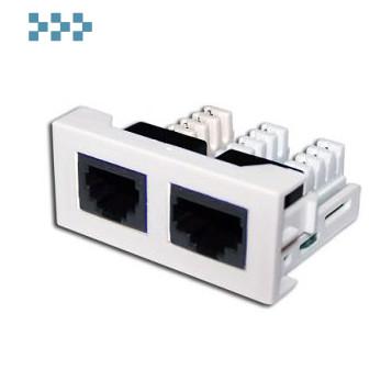 Вставки стандарта Mosaic LANMASTER LAN-WA-LP-4512-WH