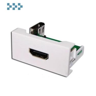 Вставки стандарта Mosaic LANMASTER LAN-WA-LP-HD90F-WH