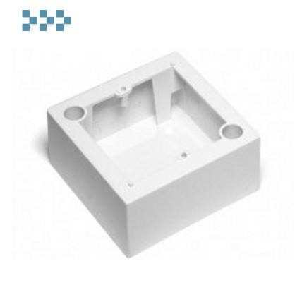 Коробка настенная, французский стандарт LANMASTER LAN-WB45x45-WH