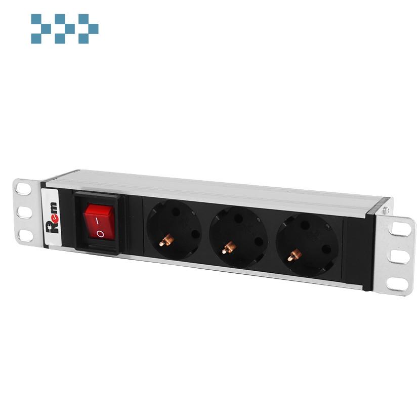 Блок розеток ЦМО R-10-3S-V-220-Z