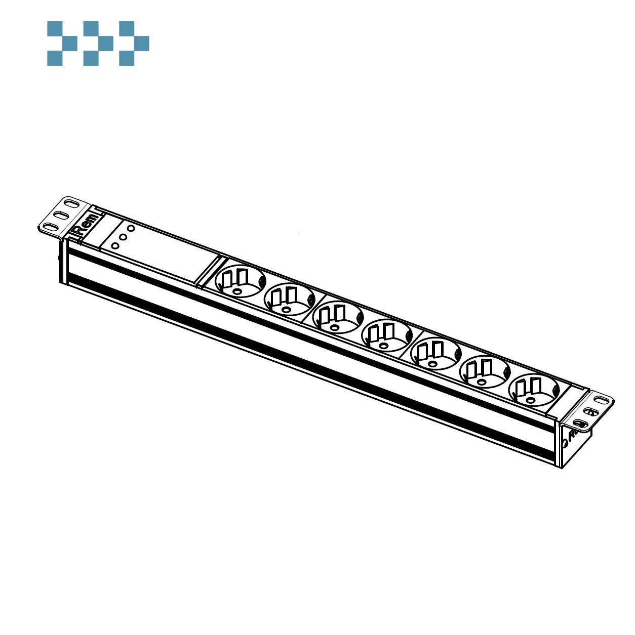 Блок розеток ЦМО R-10-7S-FI-440-Z