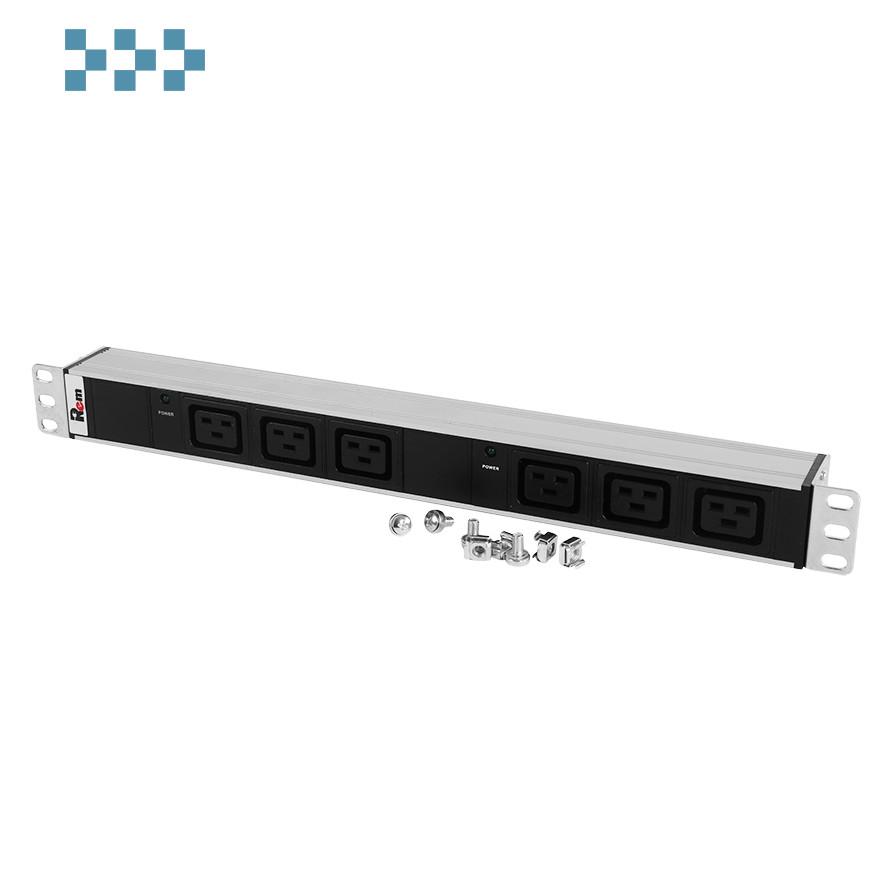 Блок розеток ЦМО R-32-6C19-I-440-K