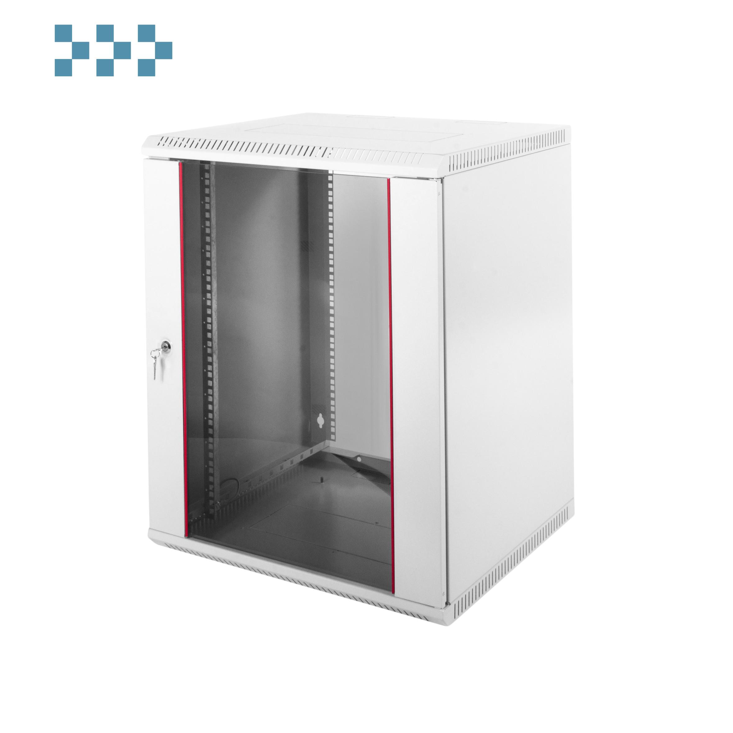 Шкаф телекоммуникационный настенный разборный ЦМО 12U ШРН-Э-12.500