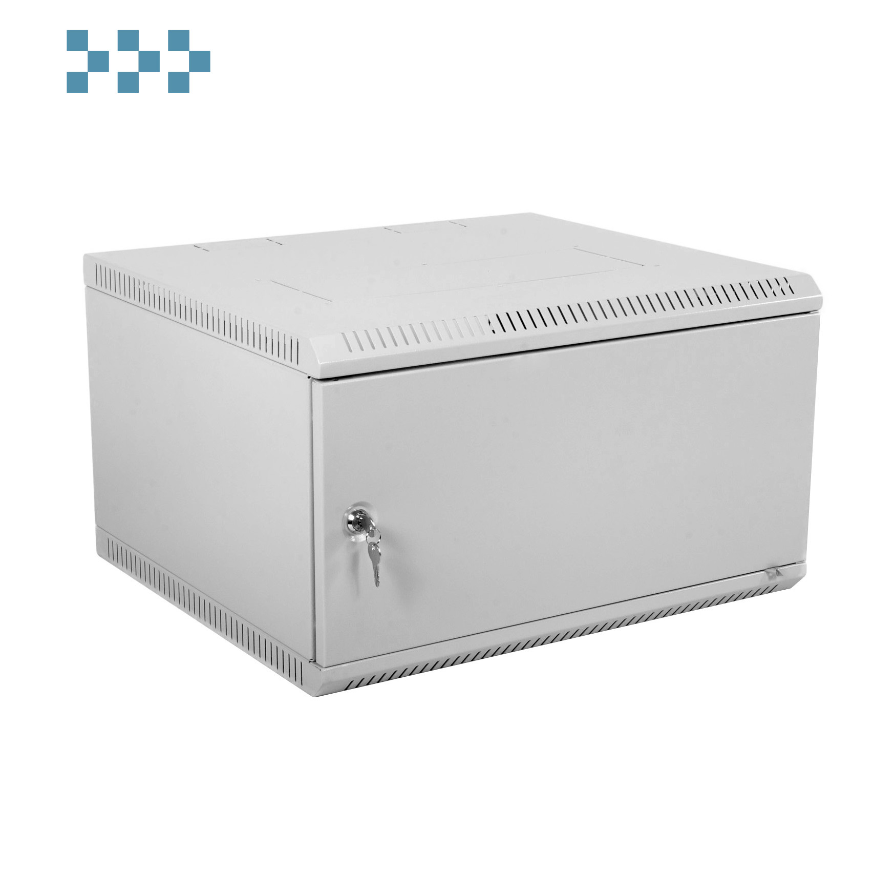 Шкаф телекоммуникационный настенный разборный 6U ЦМО ШРН-Э-6.350.1