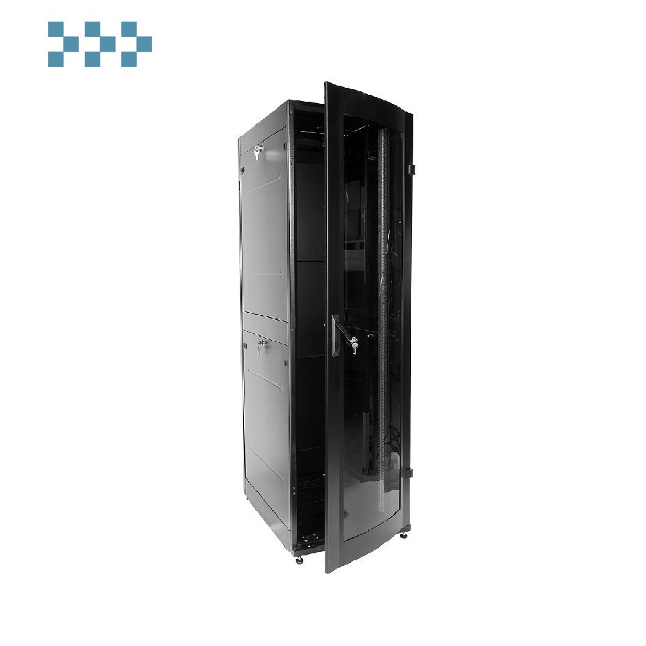 Шкаф телекоммуникационный напольный 42U ЦМО ШТК-МП-42.6.6-1ААА-9005