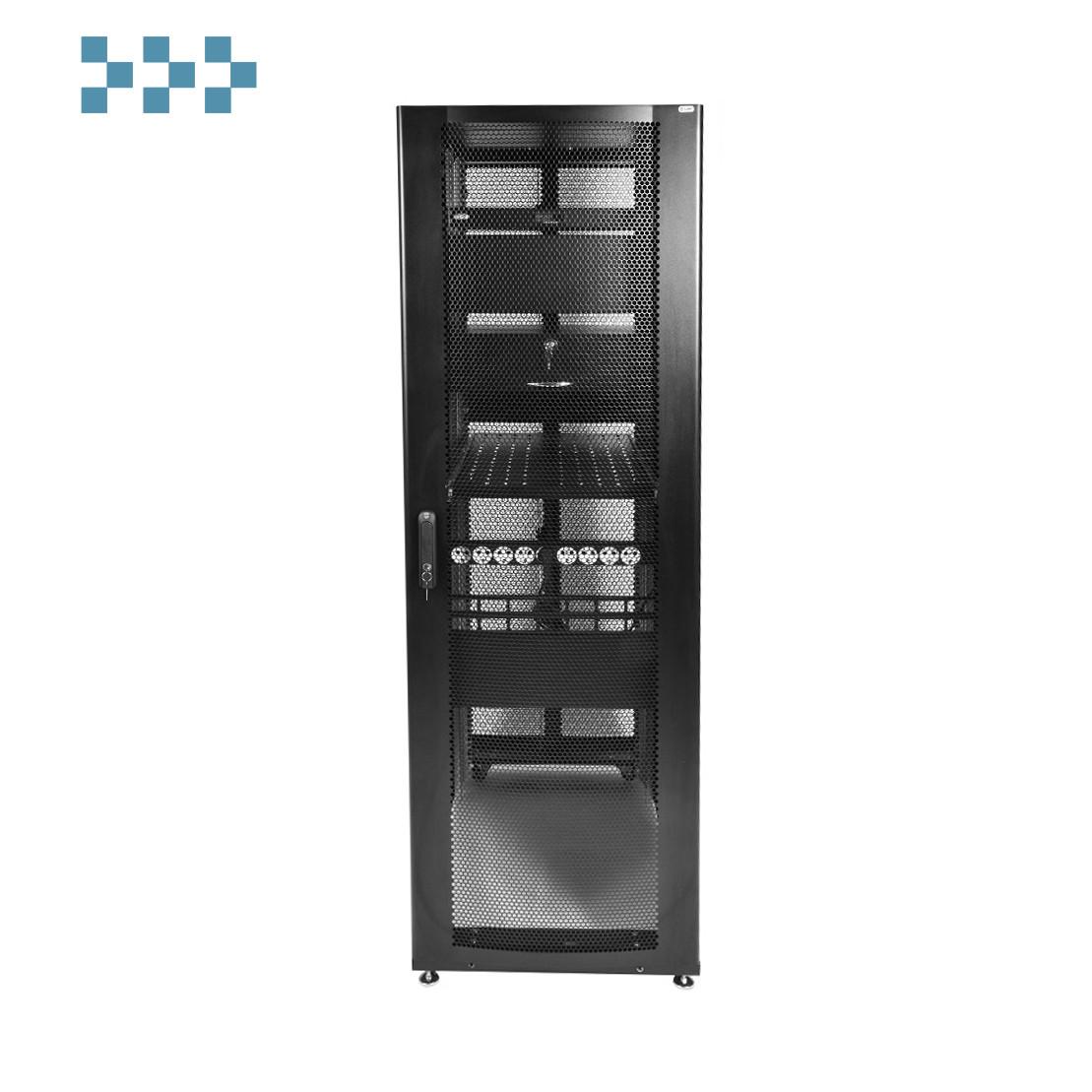 Шкаф серверный ПРОФ напольный 48U ЦМО ШТК-СП-48.8.10-44АА-9005