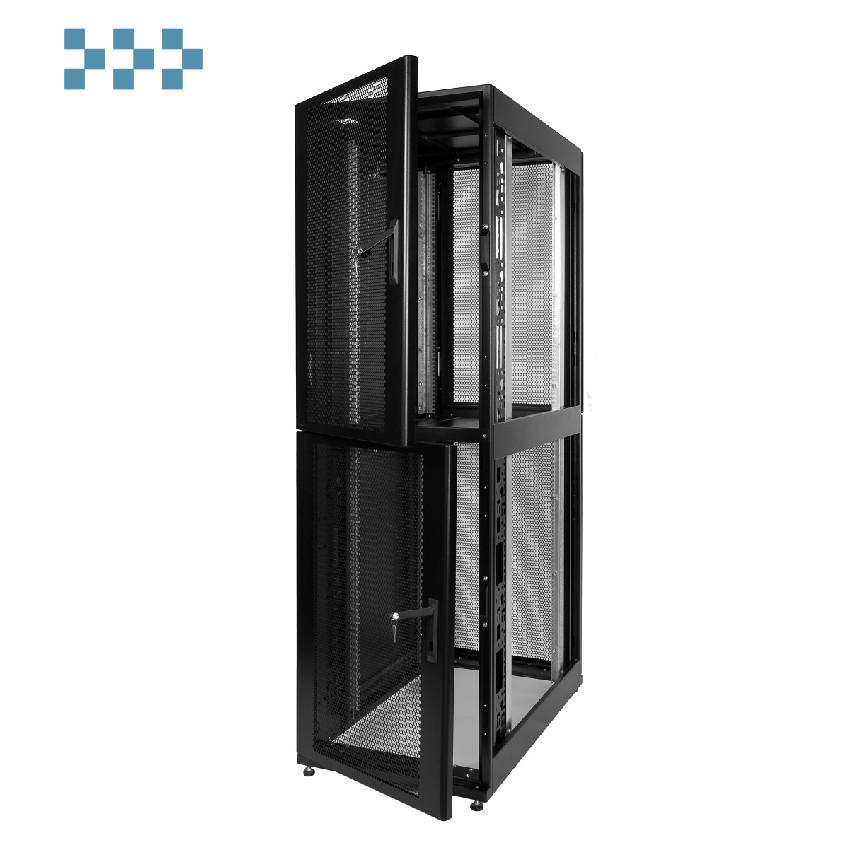 Шкаф серверный ПРОФ напольный 46U ЦМО ШТК-СП-К-2-46.6.10-44АА-Ч