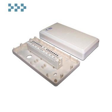 Коробка настенная пластиковая с 1 размыкаемым плинтом TWT-DB10-1P-DIS