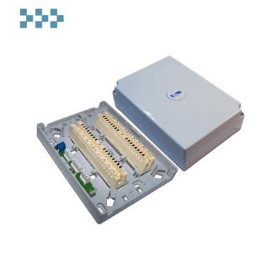 Коробка настенная пластиковая с 2 размыкаемыми плинтами TWT-DB10-2P-DIS