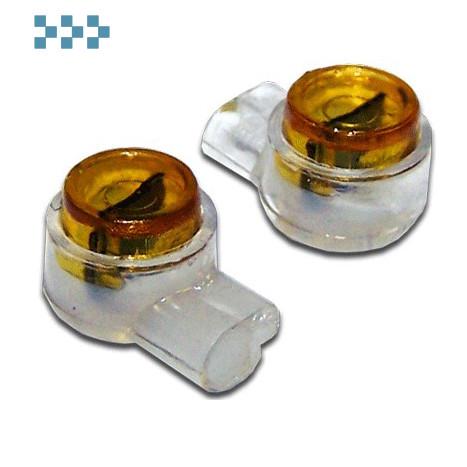 Соединитель проводов изолированный (скотчлок) с гелем TWT-SLC-UY