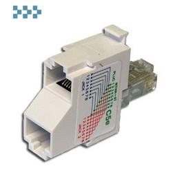 Т-адаптер категории 5е, 2 параллельных порта TWT-T-BRIDGE