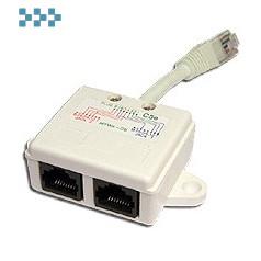 Y-адаптер, 1 телефонный и 1 компьютерный порт TWT-Y-E2-U2