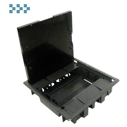 Люк — 16 модулей (8 розеток 45х45мм). серый EFAPEL 83008 CCZ