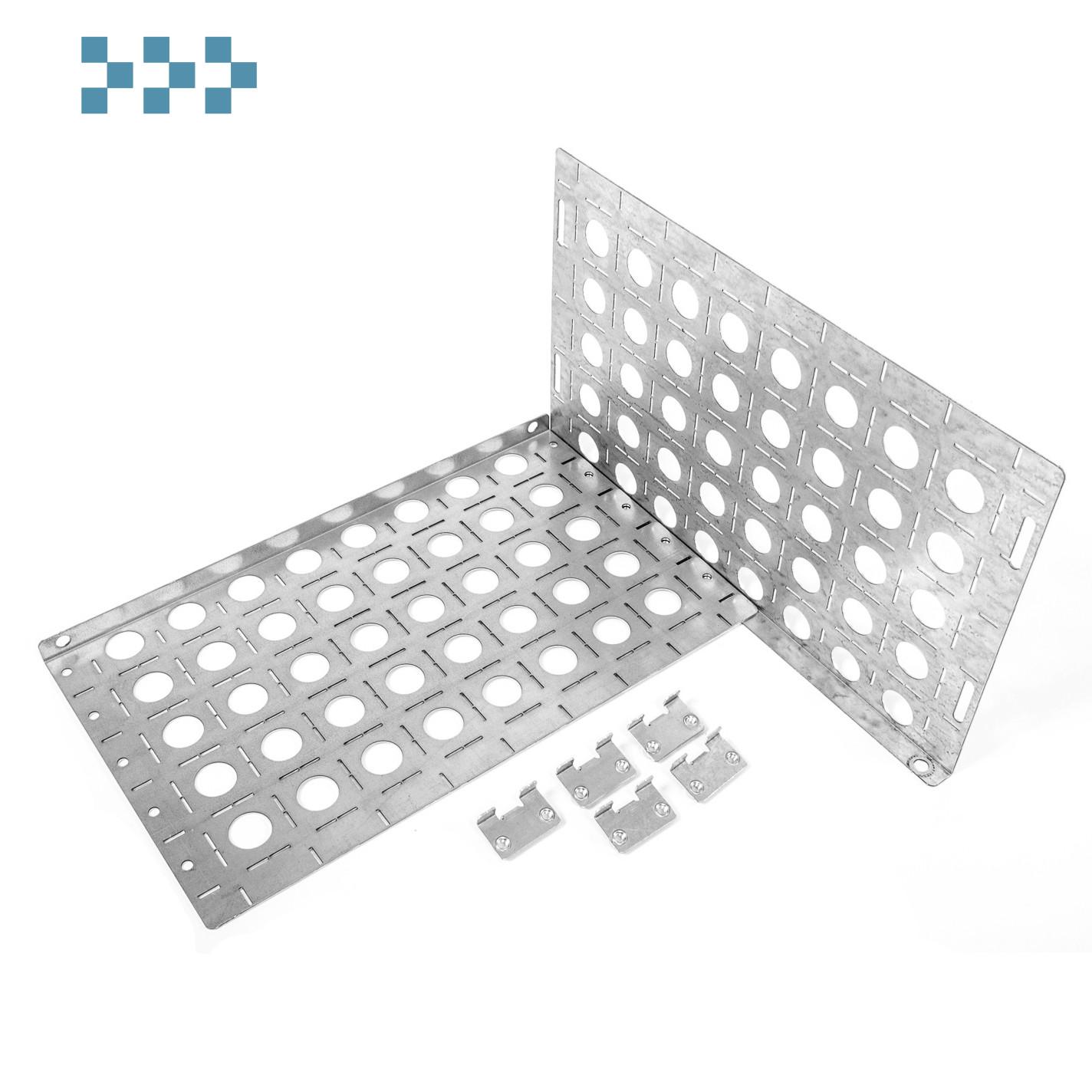 Комплект боковых монтажных панелей 19″ Elbox EU-500.300