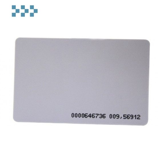Карта тонкая ZKTeco ID card(thin)