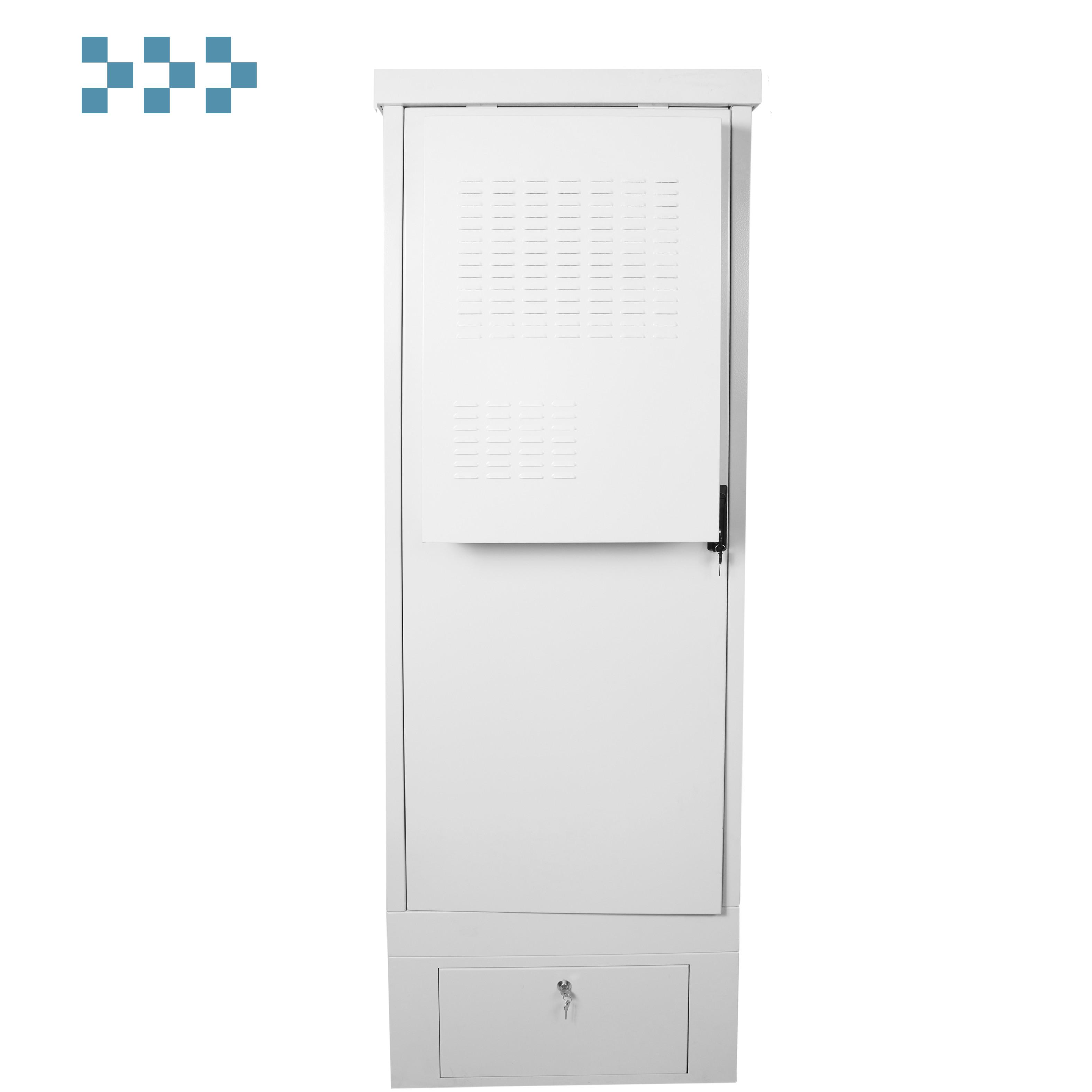 Шкаф уличный всепогодный напольный ЦМО ШТВ-1-24.7.9-К3АА-ТК