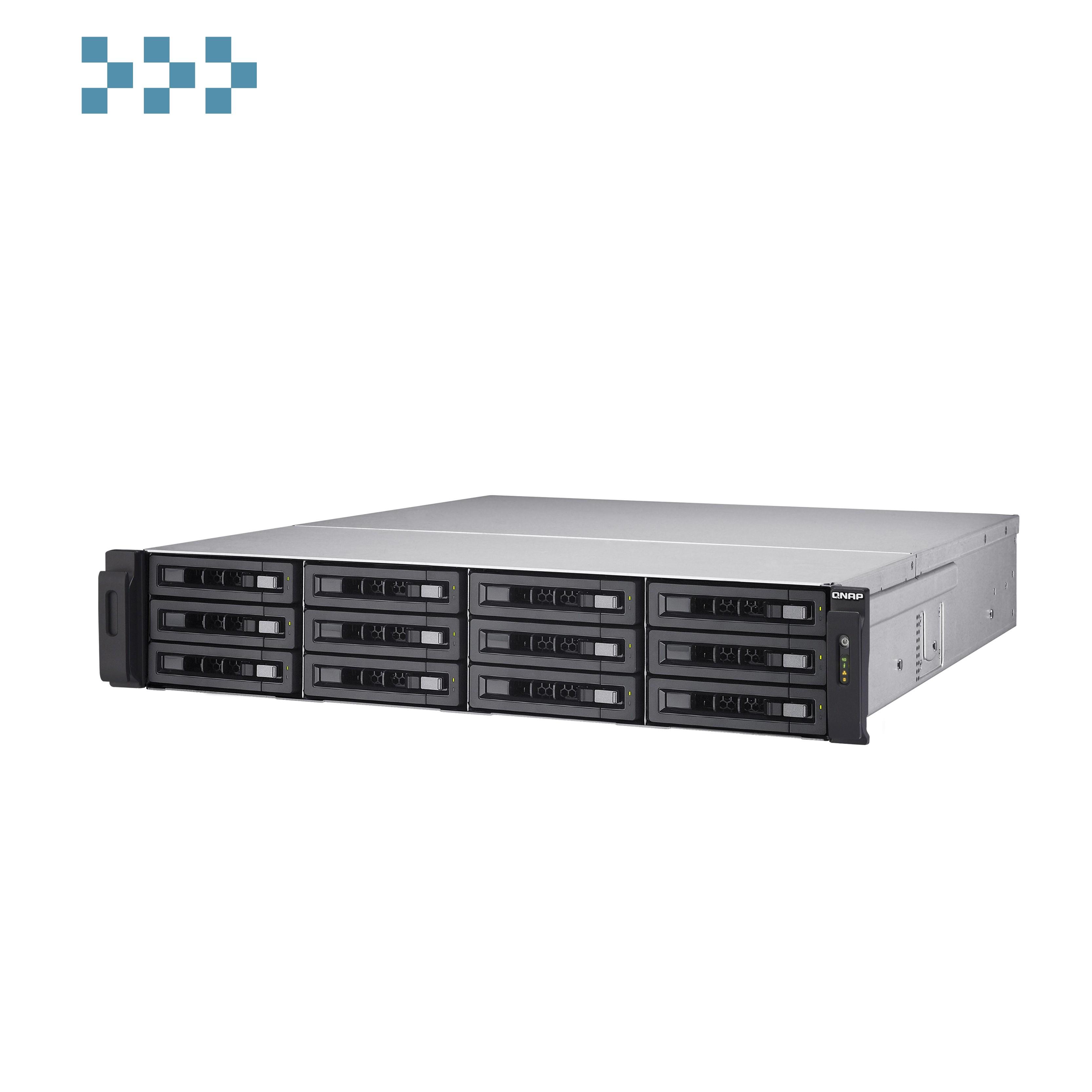Сетевой накопитель QNAP TS-EC1280U-E3-4GE-R2