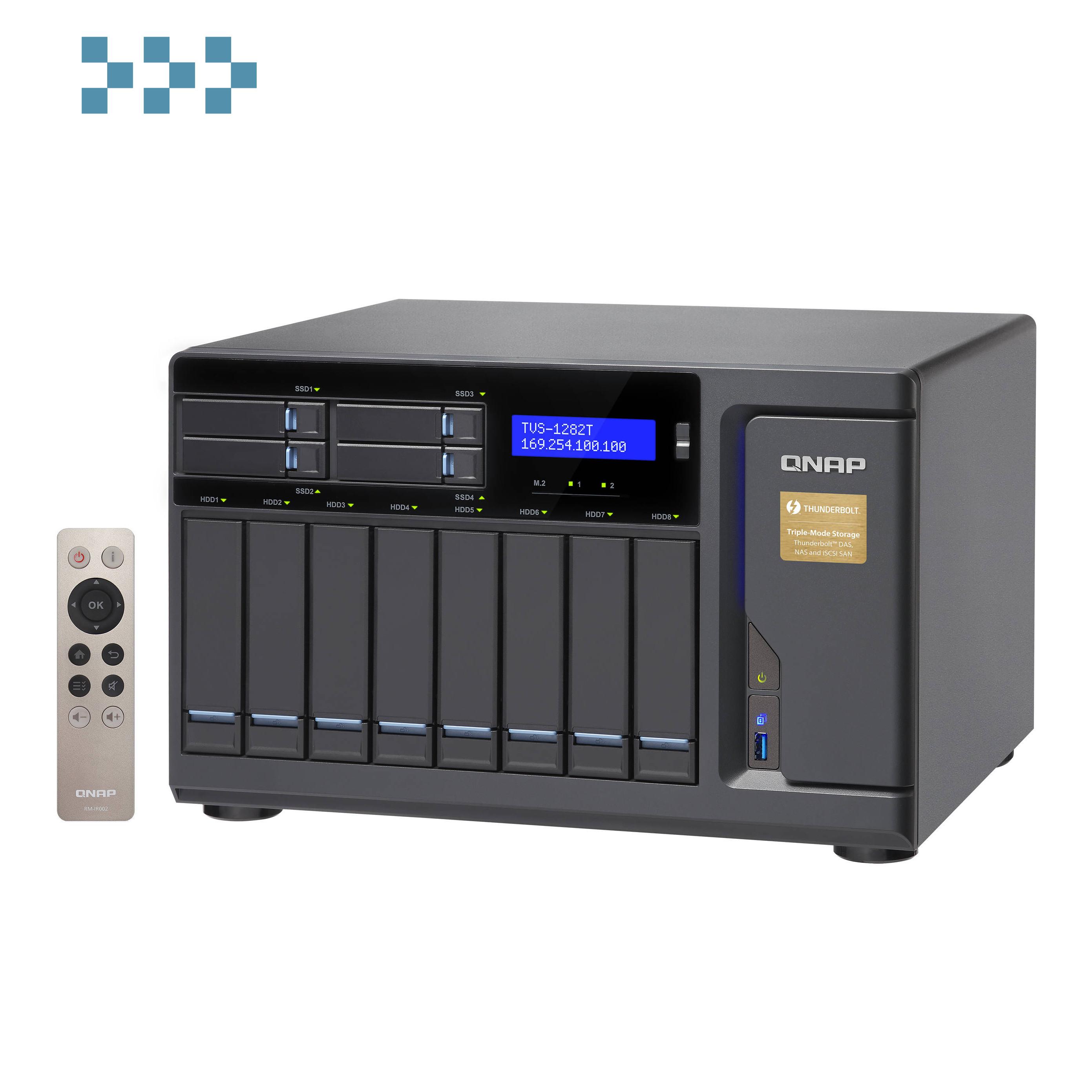 Сетевой накопитель QNAP TVS-1282T-i5-16G