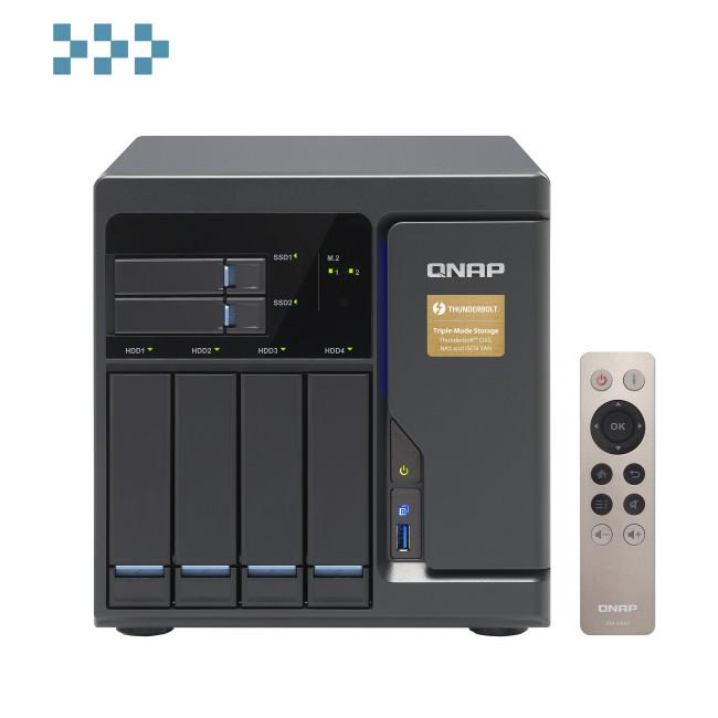 Сетевой накопитель QNAP TVS-682T-i3-8G