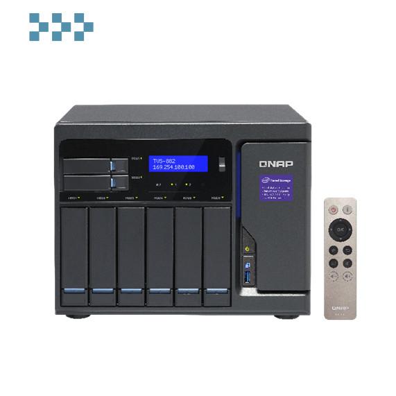Сетевой накопитель QNAP TVS-882-I3-8G