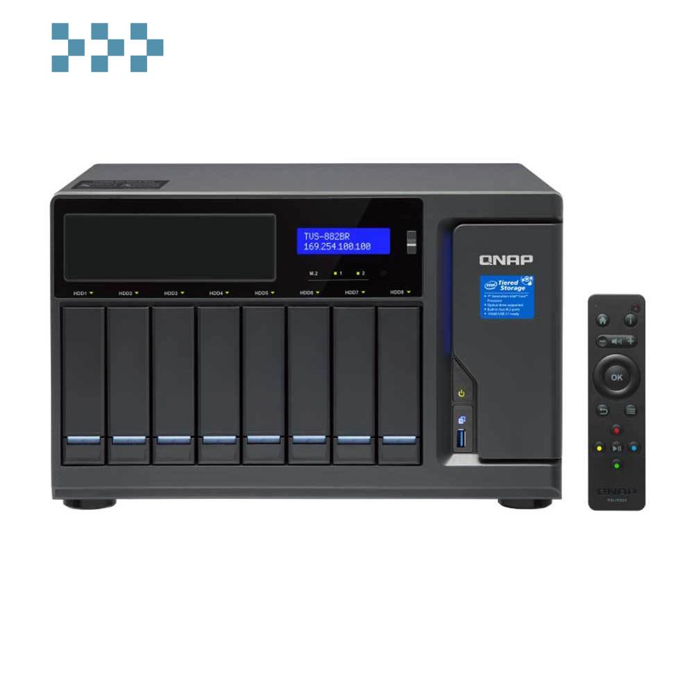 Сетевой накопитель QNAP TVS-882BR-ODD-i5-16G