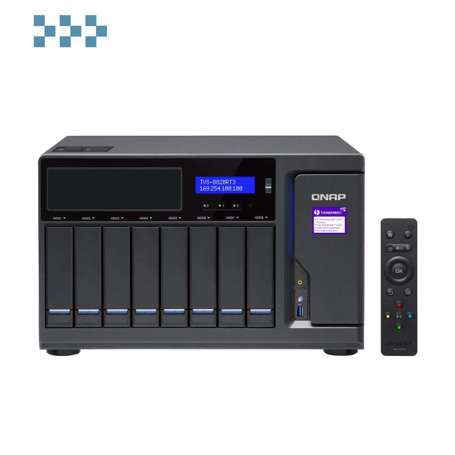 Сетевой накопитель QNAP TVS-882BRT3-i7-32G