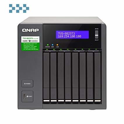 Сетевой накопитель QNAP TVS-882ST3-i7-8G