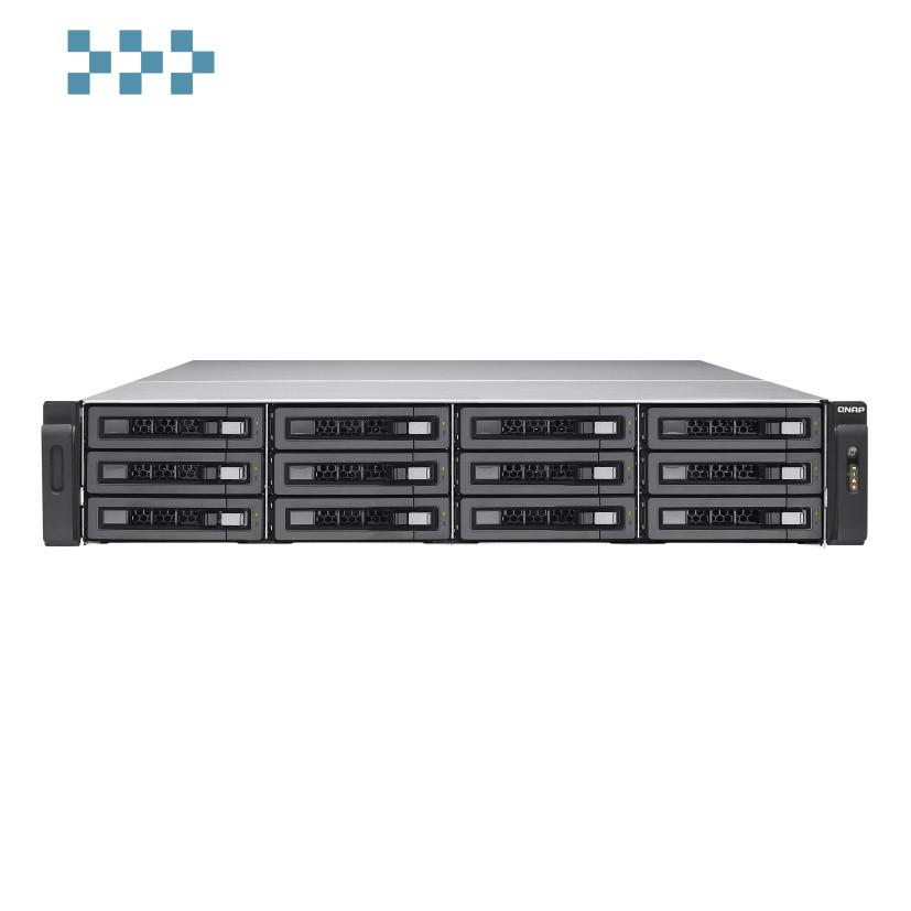 Сетевой накопитель QNAP TVS-EC1280U-SAS-RP-16G-R2