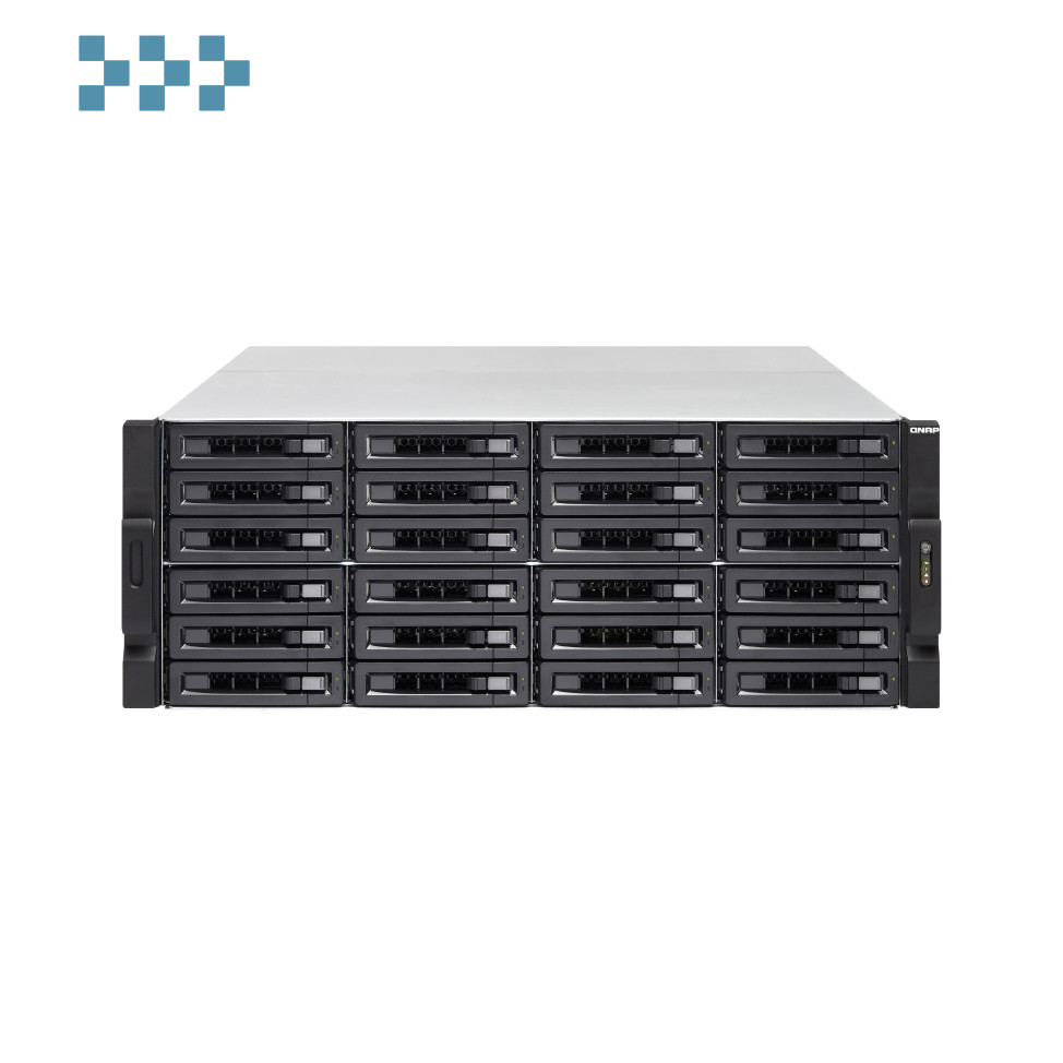 Сетевой накопитель QNAP TVS-EC2480U-SAS-RP-16G-R2