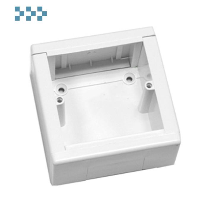 SM Коробка 1 пост для розетки Ecoplast 72911