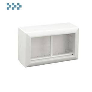 Коробка для открытой проводки на 2 поста Ecoplast 72944