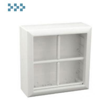 Коробка для открытой проводки на 4 поста Ecoplast 72948