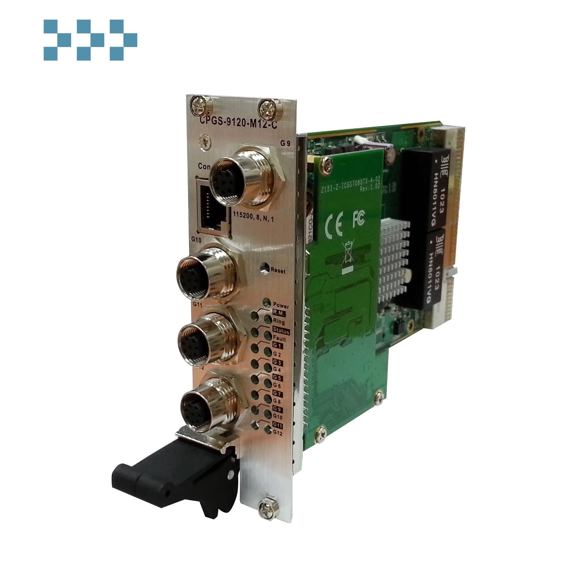 Промышленный коммутатор ORing CPGS-9120-M12-C