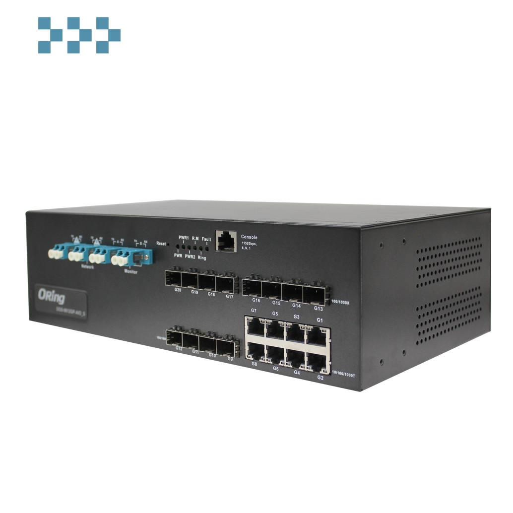 Промышленный коммутатор ORing DGS-9812GP-MM-AIO_S