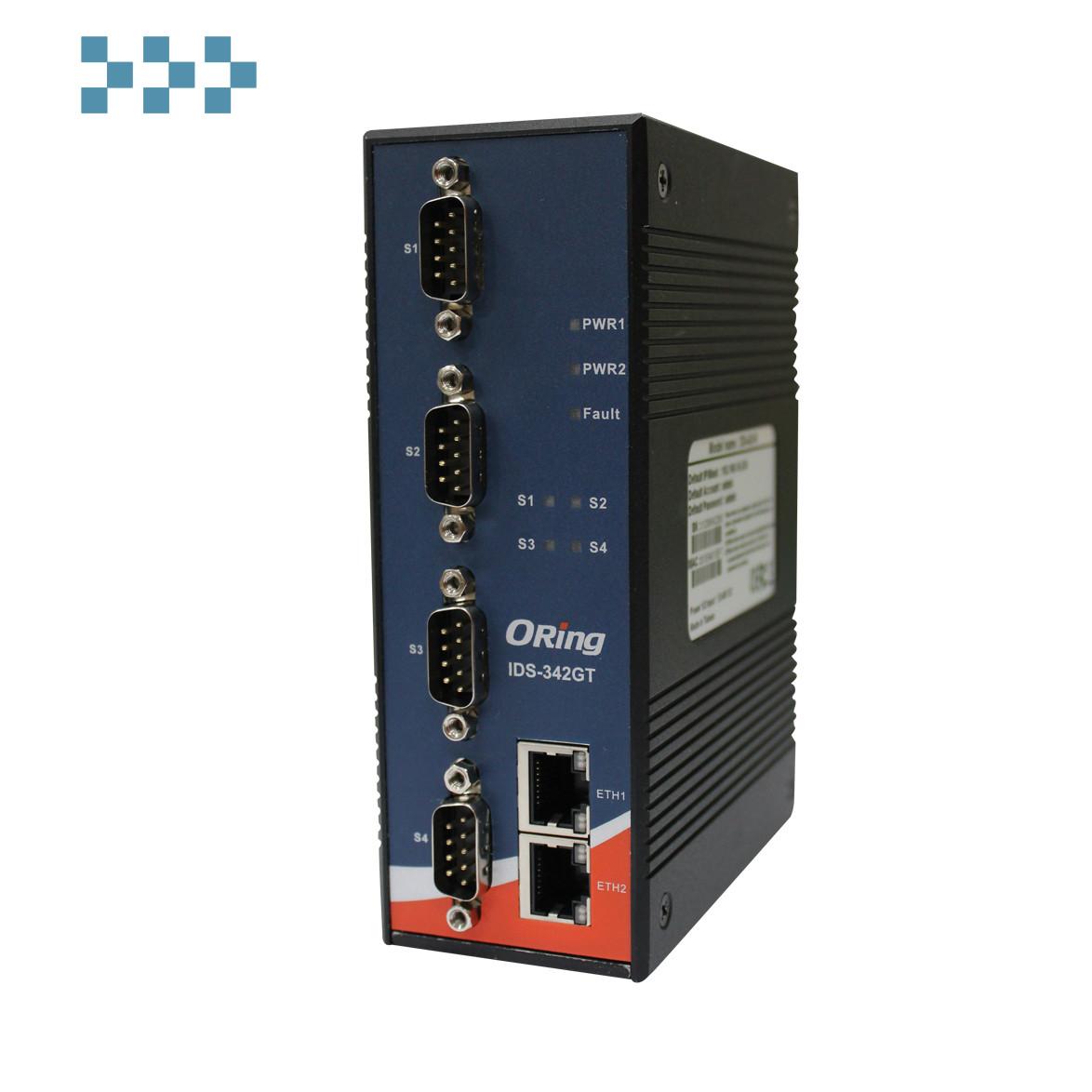 Сервер безопасных устройств ORing IDS-342GT+