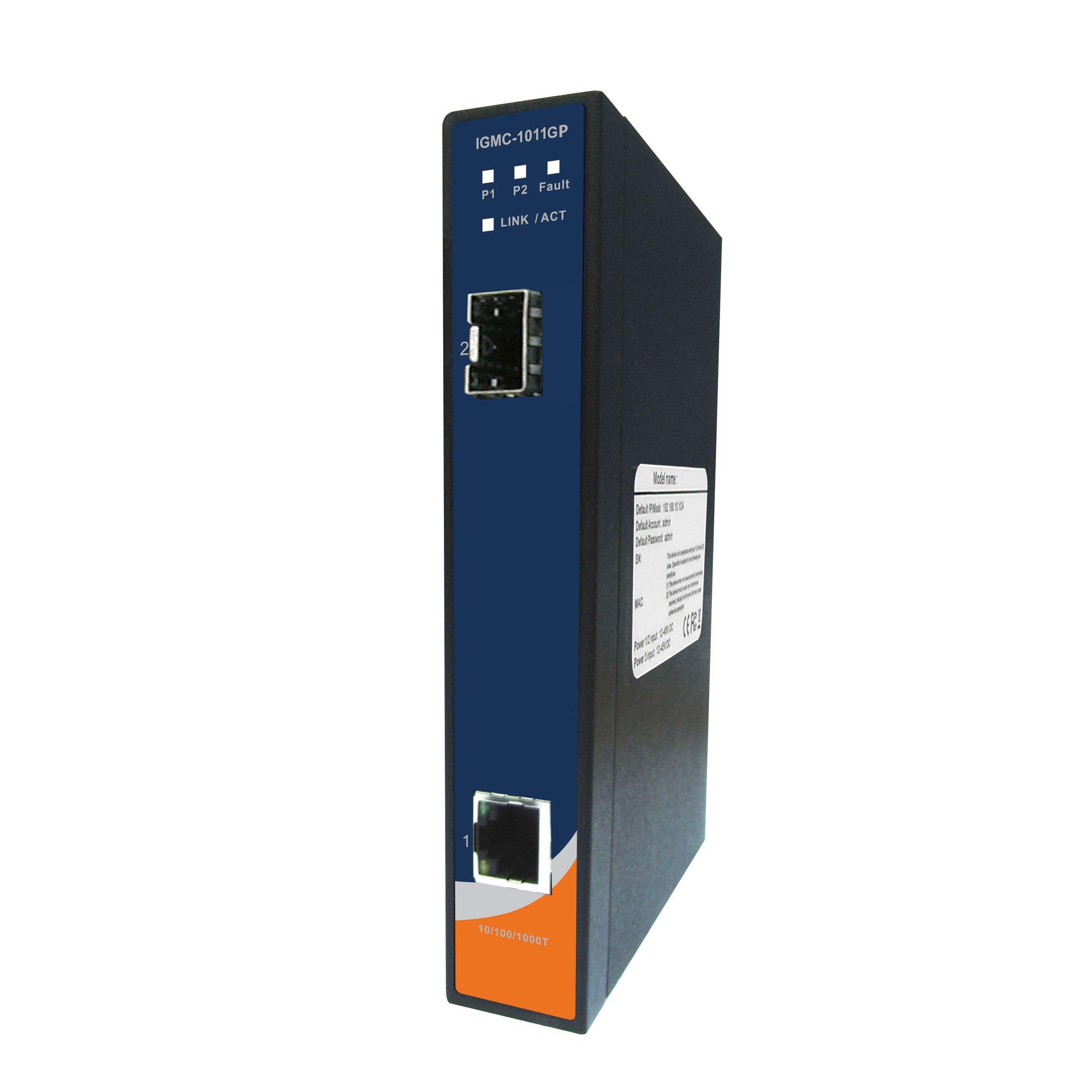 Промышленный медиаконвертер ORing IGMC-1011GF-MM-SC
