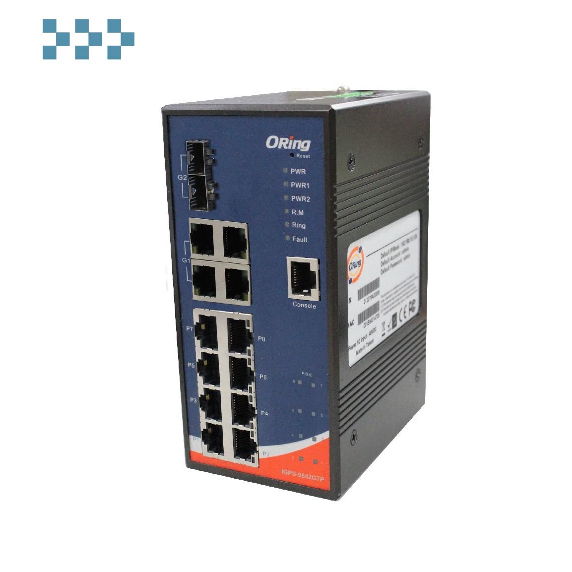 Промышленный коммутатор ORing IGPS-9842GTP