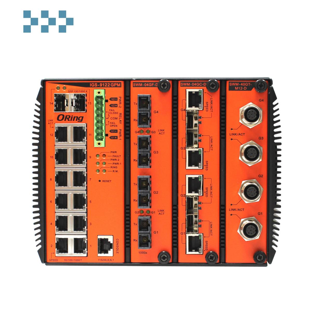 Промышленный коммутатор ORing IGS-9122GPM