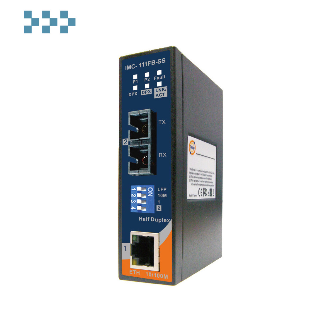 Промышленный медиаконвертер ORing IMC-111FB-SS-SC