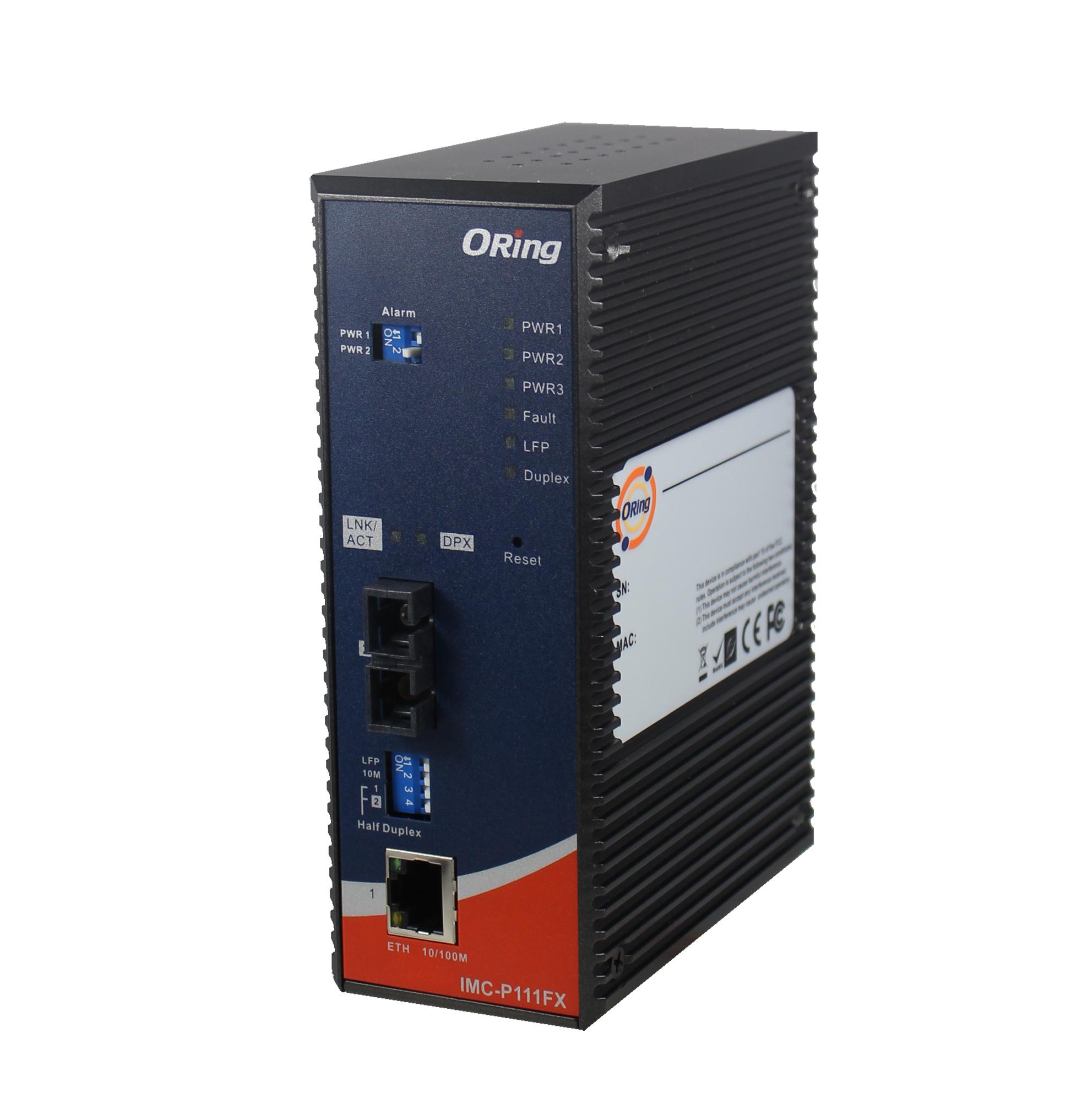 Промышленный медиаконвертер ORing IMC-P111P-HV