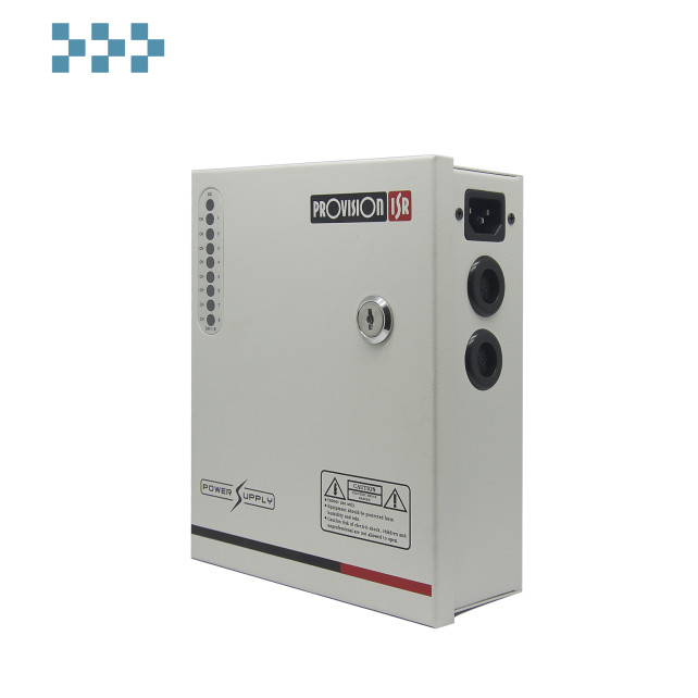 Блок питания профессиональный на 8 камер Provision-ISR PR-5A8CH-B