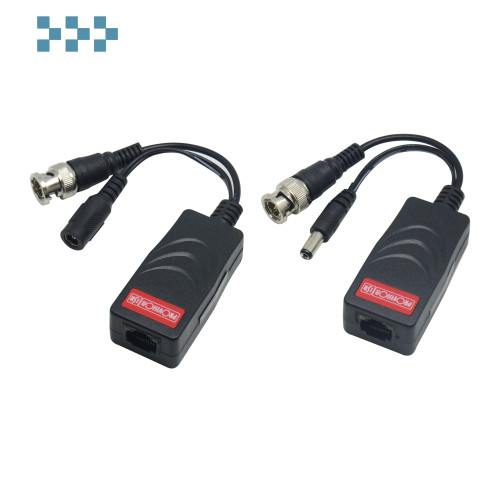 Видео трансивер + трансивер питания Provision-ISR PTR-102VP-HD+