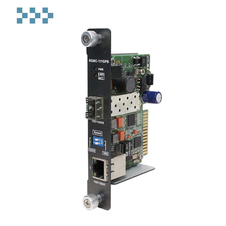 Промышленный медиаконвертер ORing RGMC-111GPB