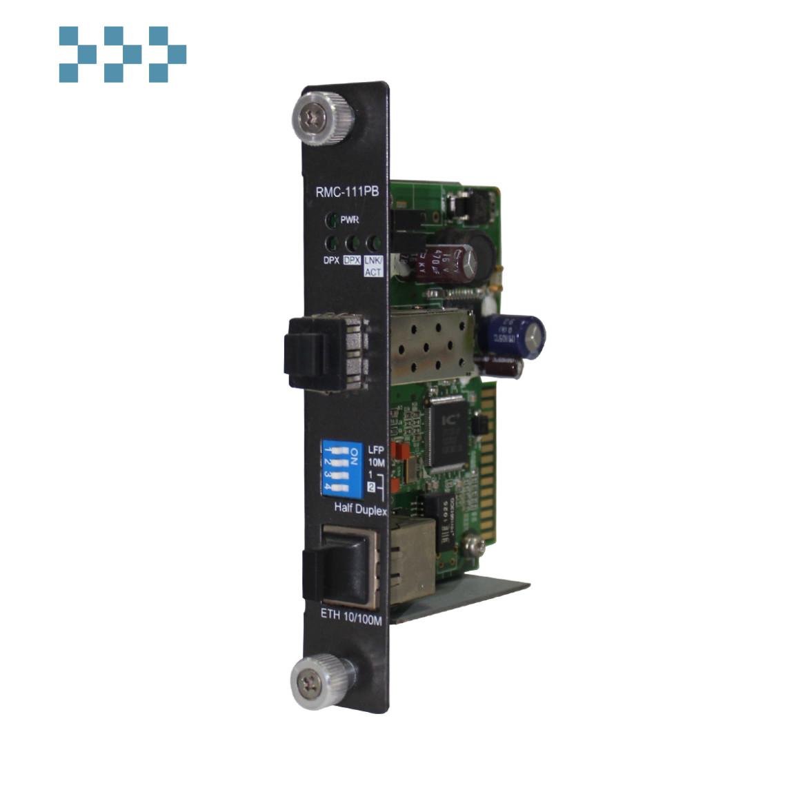 Промышленный медиаконвертер ORing RMC-111PB