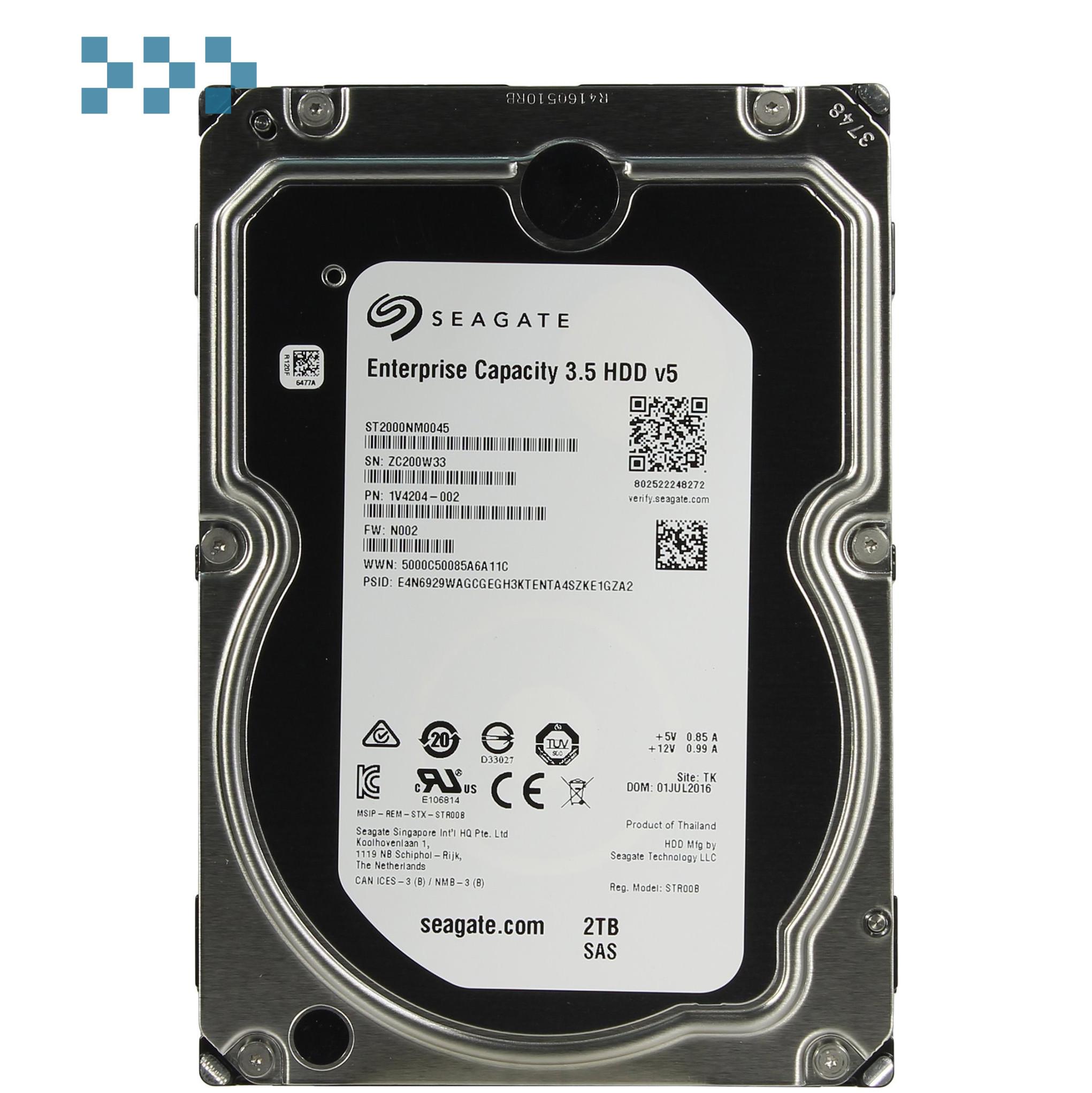 Жесткий диск Seagate ST2000NM0045