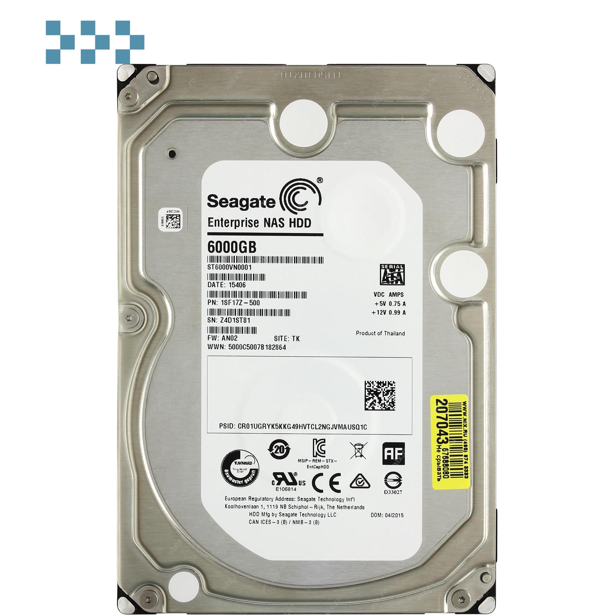 Жесткий диск Seagate ST6000VN0001
