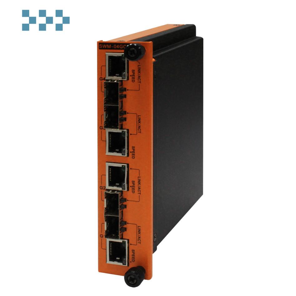 Промышленный коммутатор ORing SWM-04GC-D