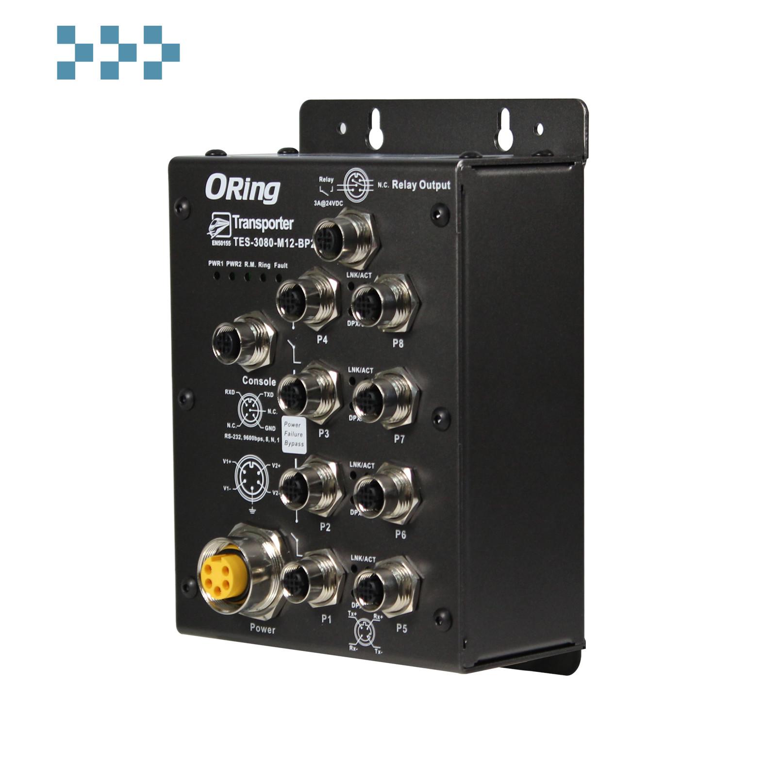 Промышленный коммутатор ORing TES-3080-M12