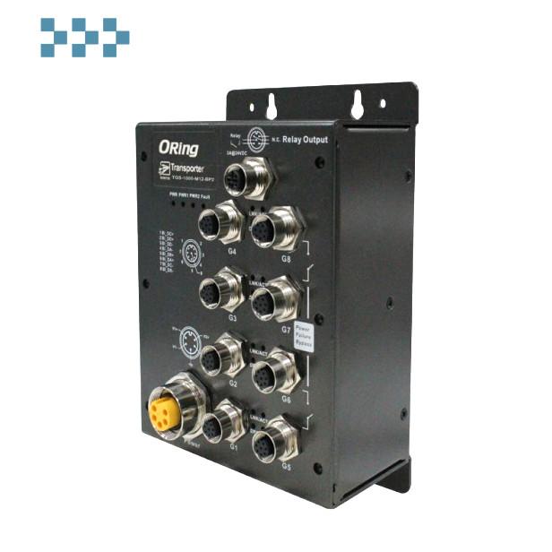 Промышленный коммутатор ORing TPS-1080-M12-BP2-24V