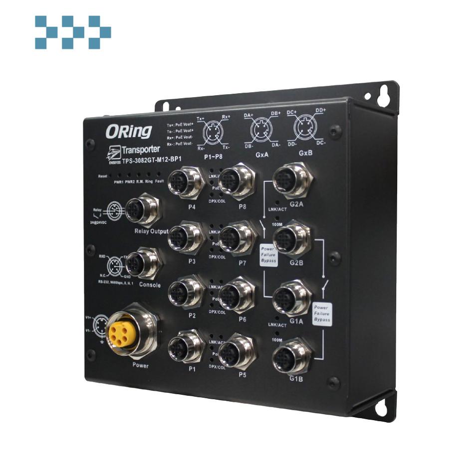 Промышленный коммутатор ORing TPS-3082GT-M12-BP1